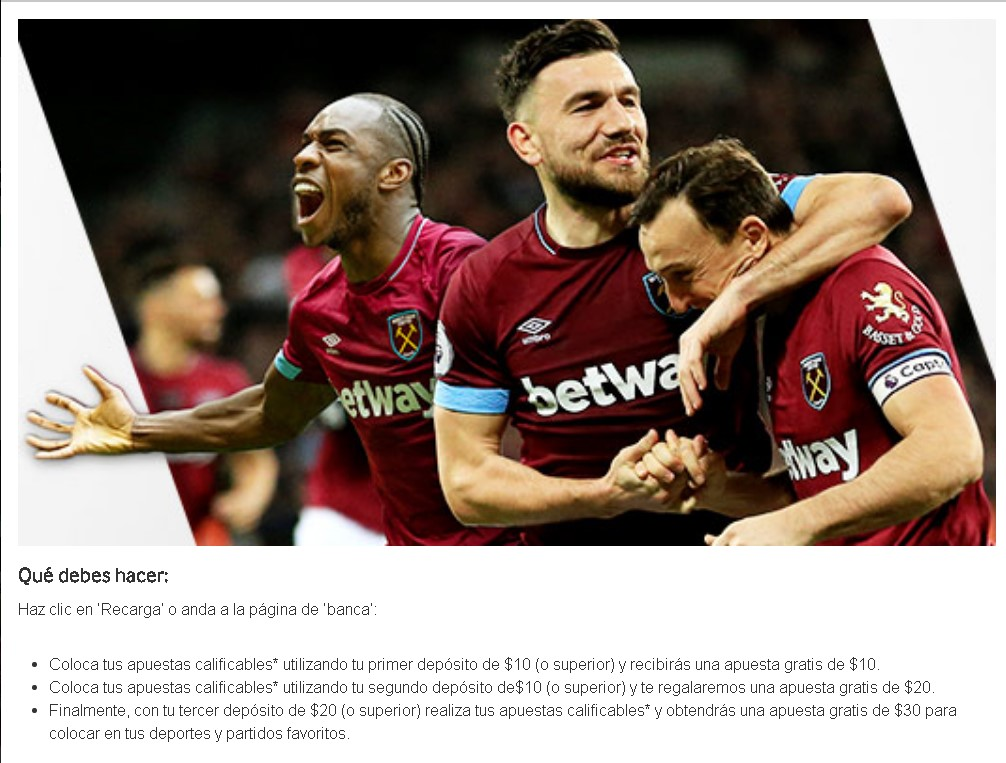Betway first deposit