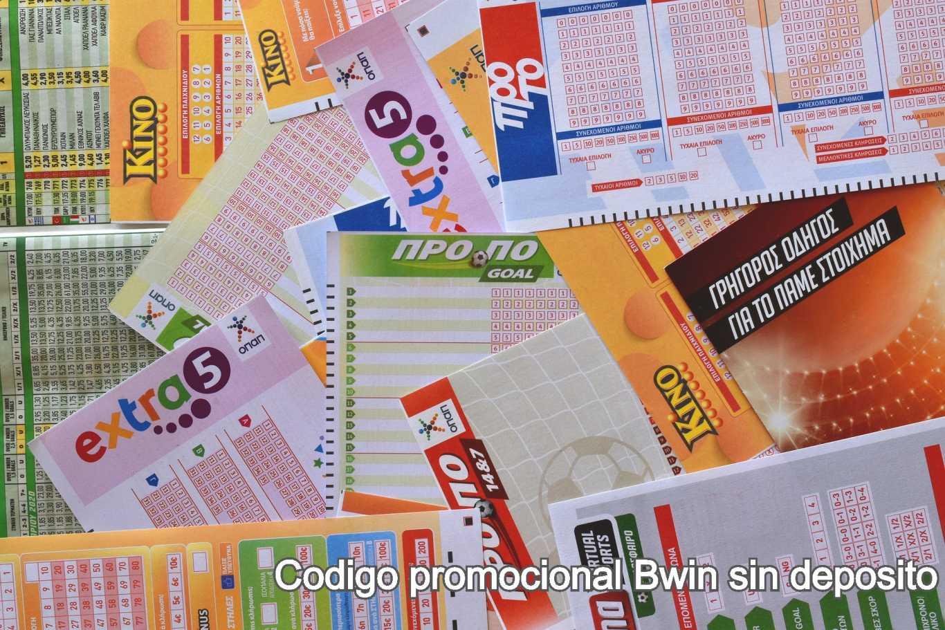 Codigo promocional Bwin sin deposito