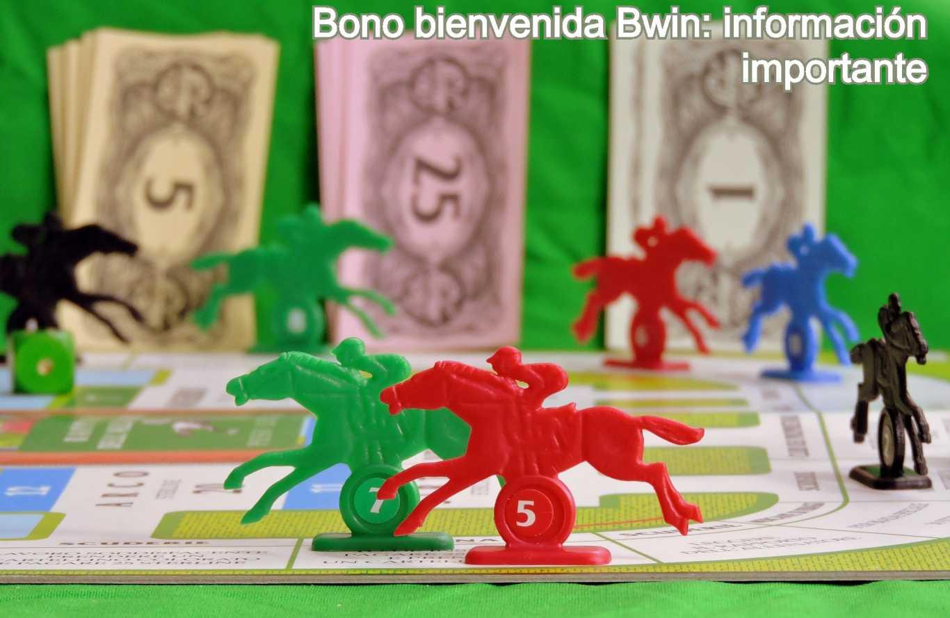 Bono bienvenida Bwin: información importante